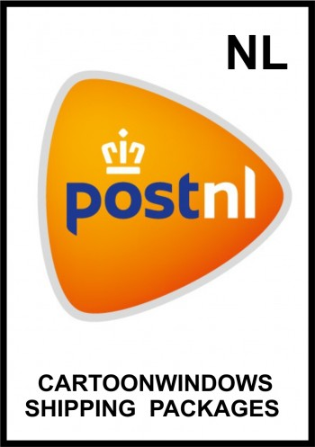cartoonwindow frame logo shipping NL