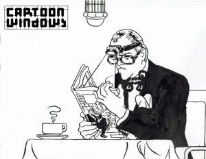 Cartoonwindows Sjef v Oekel Origineel L